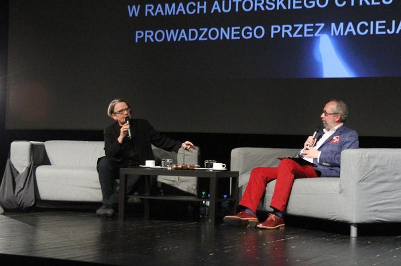 Film-mowka Agnieszka Holland Maciej Slesicki